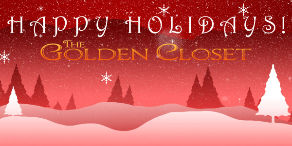 featured banner xmas2012 December 2012   The Golden Closet Entertainment Memorabilia Newsletter